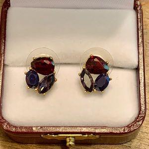 J.Crew Cluster Stone Earrings